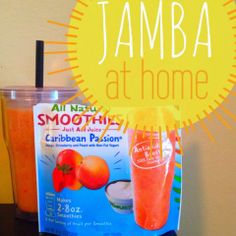 Jamba Juice at-home Smoothies #surfsupvoxbox @athomesmoothie #jambajuice #contest   *Recieved free for testing from Influenster*