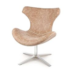 Vintage Sessel Kensington Braun Kensington, Shabby, Egg Chair, Lounge, Furniture, Home Decor, Cottage Chic, Switzerland, Brown