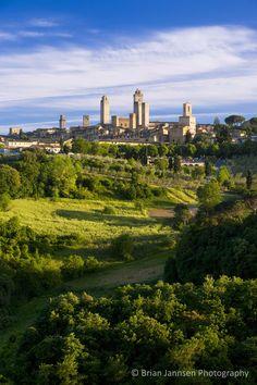 San Gimignano, Tuscany Italy. © Brian Jannsen Photography