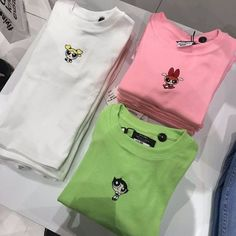 Powerpuff Girl Shirts😍😍😍 is part of Vintage outfits - Mode Outfits, Girl Outfits, Casual Outfits, Fashion Outfits, Fashion Ideas, Fashion Mode, Womens Fashion, Vintage Outfits, Vetement Fashion