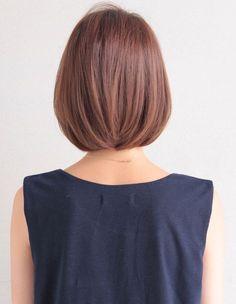 大人かわいい耳かけボブ(TM-17) | ヘアカタログ・髪型・ヘアスタイル|AFLOAT(アフロート)表参道・銀座・名古屋の美容室・美容院