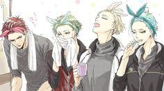 【刀剣乱舞】本丸にうさ耳ヘアバンドが支給されたようです(大包平・鶯丸・源氏兄弟)【とある審神者】 : とうらぶ速報~刀剣乱舞まとめブログ~ Illusion, Mutsunokami Yoshiyuki, Hot Anime Guys, Anime Boys, Body Poses, Shounen Ai, Mystic Messenger, Boy Art, Touken Ranbu