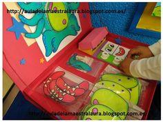 Aula de la maestra Laura: La caja de las mates: Monstruoso Math For Kids, Games For Kids, Toddler Activities, Activities For Kids, Preschool Education, Math Humor, Education English, Too Cool For School, School Projects