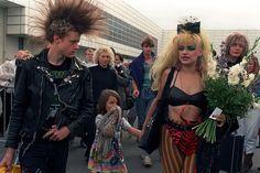Nina Hagen mit Cosma & Iroquois auf der IFA in Berlin, 1987 Nina Hagen, Punk Rock Girls, Goth Girls, Female Heroines, Stay Wild Moon Child, Berlin, Punk Goth, Post Punk, Boss Lady
