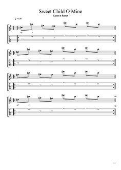 Partitions de guitare seven nation army des white stripes sur cours de - Le vent nous portera guitare ...
