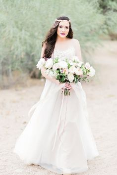 Etheral Bride in Watters Penelope Wedding Dress - Jessica Q Photography http://www.confettidaydreams.com/ethereal-bride/ @jessicaQwong