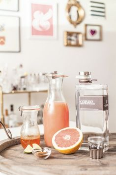 Passion Fruit Mojitos | Lillet Rose Spring Cocktail | Lavender Lemonade | Spicy Grapefruit Margarita | Citrus Champagne Sangria