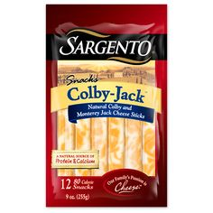 Healthy Packaged Snacks to Feel Good About: Sargento Colby-Jack Cheese Sticks