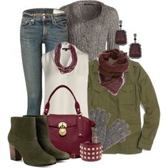 """Layer it Up"" by linda-olson on Polyvore"