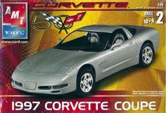 AMT 1997 Corvette Coupe box art