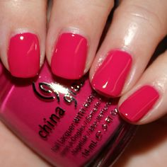 China Glaze - 'Fuchsia Fanatic' (from Spring 2012 Electropop collection)