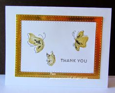 Altenew Painted Butterflies Thank You