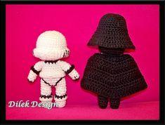 Amigurumi Crochet Pattern Star Wars Darth Vader