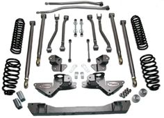 """Full Traction 3"""" Long Arm suspension system"""