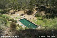 A little oasis in the middle of nowhere - the Thermal Pool at Yarrangobilly. Thermal Pool, Cool Places To Visit, Oasis, Places Ive Been, The Good Place, Golf Courses, Country Roads, Camping, South Wales