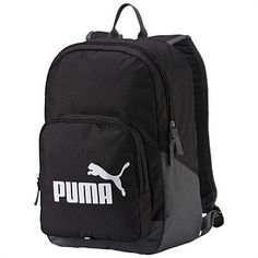 Rebel Sport - PUMA Phase Backpack Black 20 Litres