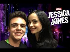 ¡Platicando con Jessica Jones! - Andrés Navy - YouTube