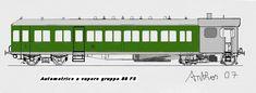 Italian class FS 85 steam railcar