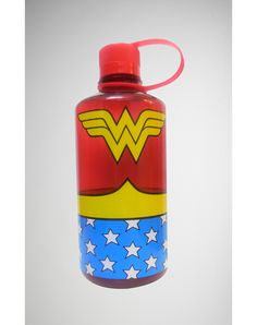 Wonder Woman Water Bottle- my husband found this bottle at Spencer's gift. He feeds my Wonder Woman obsession.