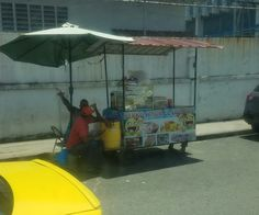 Food Stand in Colon Panama