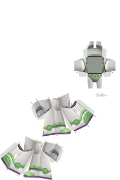Buzz Lightyear Buzz Lightyear, 3d Paper Crafts, Paper Toys, Diy Paper, Anniversaire Woody, Clash Of Clans, Festa Toy Store, Imprimibles Toy Story Gratis, Super Mario