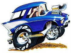 1957 CHEVY BEL AIR NOMAD HOT ROD LICENSED T SHIRT