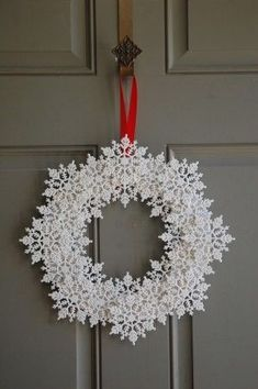 snowstars wreath
