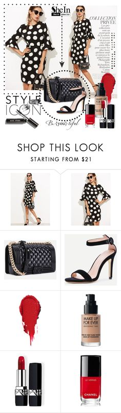 """""""SheIn 2"""" by rada-mitrovic ❤ liked on Polyvore featuring By Terry, PAM, MAKE UP FOR EVER, Christian Dior, Chanel and Bobbi Brown Cosmetics"""