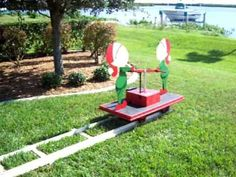 Elf Pull Cart designed and created by Bill. Christmas Yard Art, Christmas Yard Decorations, Christmas Wood, Christmas Projects, Christmas Lights, Christmas Time, Christmas Ideas, Wood Yard Art, Halloween Circus