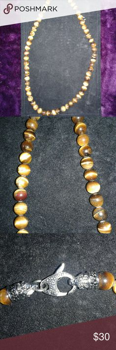 "Sigal Beaded Mashaba Brand New Marble Beaded Mashaba Necklace Measuring 23 1/2"". Sigal is a Maker of Fine Alternative Jewelry.  Well  Made and Will Make You Look Cool. Comes w/Tag. Sigal Jewelry Necklaces"
