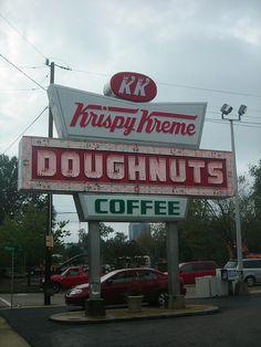Krispy Kreme downtown Raleigh by Mitch Glaser, via Flickr