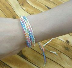 簡単!可愛い!初心者でも作れる!リボンレイ♪ | 生地、手芸用品のオカダヤ(okadaya)公式ショップブログ Friendship Bracelets, Sewing, Crafts, Handmade, Jewelry, Google, Fashion, Moda, Dressmaking