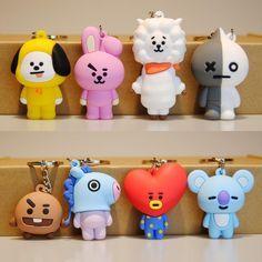 Korea Vapp Key Chain Pvc Doll rabbit hippo sheep red heart koala dolls Keychian Toy Kpop Home Bangtan Boys Action Figures. Felt Keyring, Cute Keychain, Bts Cake, Bts Birthdays, Kpop Merch, Bts Chibi, Bts Wallpaper, Action Figures, Dolls