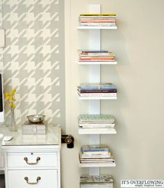 Perk Up Your Home Office With The Houndstooth Stencil