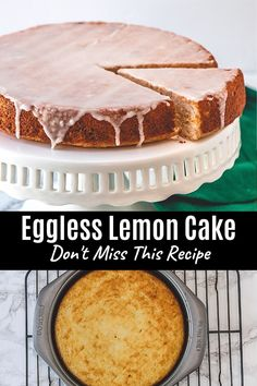 This eggless lemon cake is soft, fluffy, super moist and packed with fresh lemon flavor! To get the double dose of lemon flavor, the cake is topped with lemon icing. This is the perfect warm-weather dessert and ultimate dessert for lemon lovers.