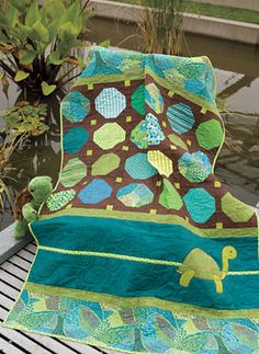 Urban Odyssey by Connecting Threads.  Great quilt kit and fabric for a boy's room.
