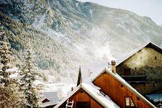 Glamorous ski vacation!