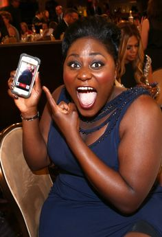 Pin for Later: All the Stars, Smiles, and Wins From the Critics' Choice TV Awards  Danielle Brooks totally FaceTimed someone into the show!