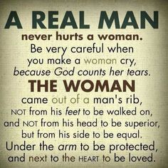 Real man...just random but strong