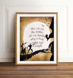 Harry Potter Deathly Hallows. Beedle the Bard. Tale of Three Brothers. JK Rowling. Harry potter fan art. Harry Potter Art print. Harry potter fans.
