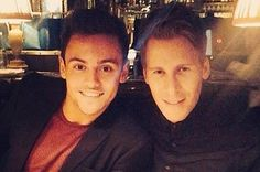 Tom Daley Has Shared His First Photo With Boyfriend Dustin Lance Black And It's The Cutest  | Pinned by http://www.thismademelaugh.com