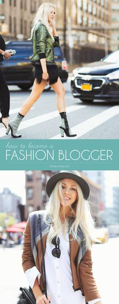 Do you want to know how to become a fashion blogger? Focus on two important things: creating quality content and building your brand. Here are 14 tips to help you do just that. #blogger #tips