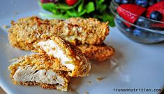 almond & coconut crusted chicken
