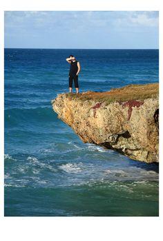 Photo by me. Photo: Diána Rigó Varadero, Cuba #Cuba #Varadero #travel #photography #sea #rock