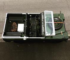 https://flic.kr/p/G83MuK | Land Rover Series Bronze Green