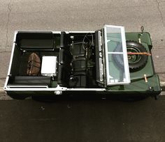 Land Rover Series Bronze Green