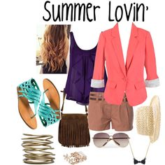 """Summer Lovin'"" by lizzieannestedman on Polyvore"