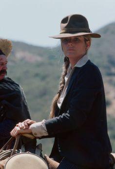 Katherine Ross in the ABC tv movie 'Wanted: The Sundance Woman', 1976. Katherine Ross, Panama Hat, Movie Tv, Woman, Women, Panama
