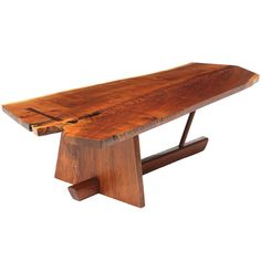 Superb Minguren Low Table By George Nakashima | From a unique collection of antique and modern coffee and cocktail tables at http://www.1stdibs.com/furniture/tables/coffee-tables-cocktail-tables/