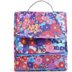 Vera Bradley Lunch Sack Bag in Impressionista ($34) ❤ liked on Polyvore featuring home, kitchen & dining, food storage containers, accessories, impressionista, lunch bags, lunch bag, brown lunch bags, lunch sack and vera bradley bags